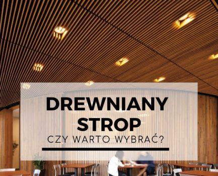 Czy wato wybrać drewniany strop?